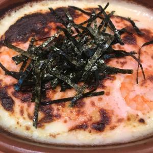 タラコとエビーの濃厚ドリア、美味いねー!これで500円!