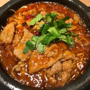 麻が効いてる旨辛の四川風煮込麺。やみつきになりますね、この美味さ!