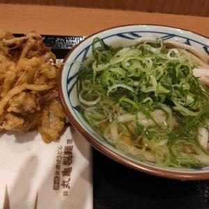 丸亀製麺で1200円分の食事をしている人がいた 羨ましい