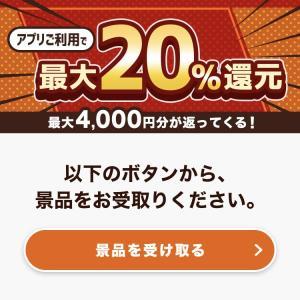 【オムニ7】春の大満足フェア最大20%還元4000円分のnanacoギフト届きました!