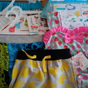 【西松屋&しまむら】来年の子供服を、セールでゲット!