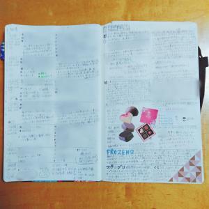 【手帳】バレットジャーナル4週め(1/20~1/26)
