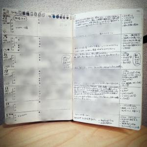 【手帳】バレットジャーナル9週め(2/24~3/1)