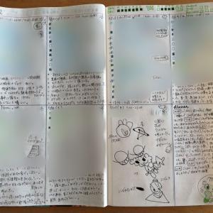 【手帳】バレットジャーナル12週め(3/16~3/22)