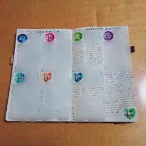手帳の中身(バレットジャーナル46週め)&今年の目標