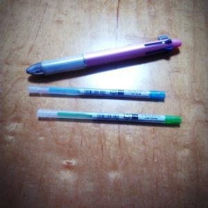 手帳のペンをカラフルに(Dr.Grip4+1にSTYLEFIT)