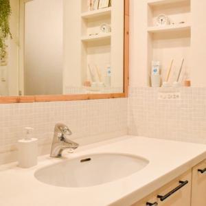 【暮らし】すっきりが続く洗面所収納と、家族を巻き込む家事分担のコツ。