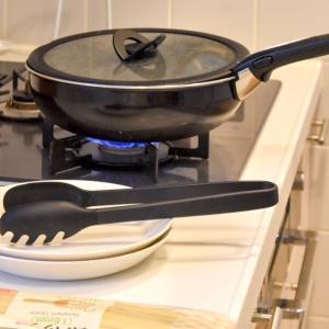 【無印良品】キッチンのストレス解消に!シリコーン調理用トング買いました。
