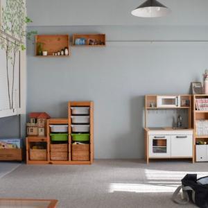 【子供と暮らす】無印良品×IKEAで作るわが家のおもちゃ収納・2021春バージョン