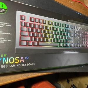 【Razer(レイザー)】有線のゲーミングキーボード「Cynosa V2」のレビュー