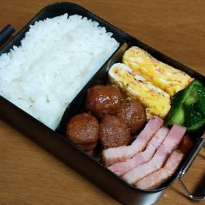 今日のお弁当と夏風邪。