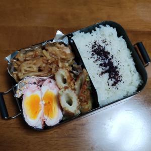 今日のお弁当と台風通過中