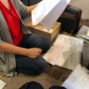 書類は保存期間によって分ける(短期保存)