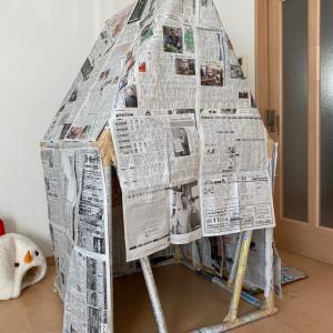 なかなかよくできた3軒目の手作りハウスのその後