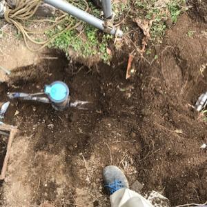 敷地内水道管埋設状態