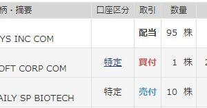 【CSCO】シスコシステムズより四半期配当(2020年7月)+今週前半の売買