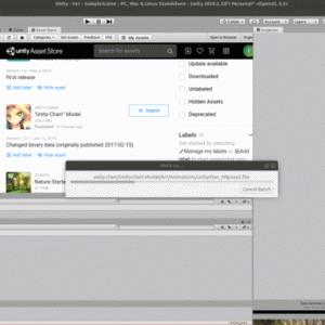 Unity3D、Ubuntuで安定せず