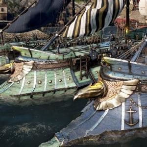 2隻目以降のガレー船製作方法