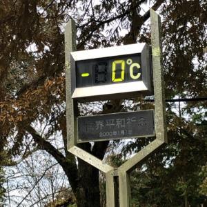 マイナスの気温