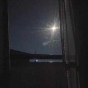 満月間近…