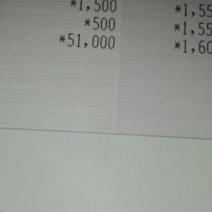 去年12月の貯金