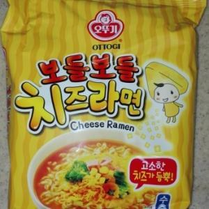 韓国のチーズラーメン