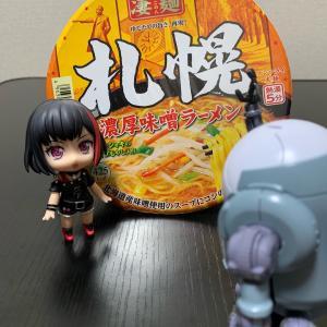 『ラーメン』(〃´д` )ノ{…凄麺♪【札幌 濃厚味噌ラーメン】