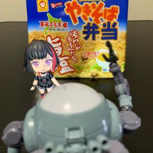 『カップ麺』(〃´д` )ノ{…マルちゃん♪【やきそば弁当 味わいがあるんどな。旨塩】