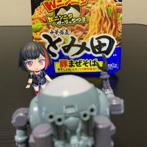 『カップ麺』(〃´д` )ノ{…セブン♪【中華蕎麦とみ田 豚まぜそば】