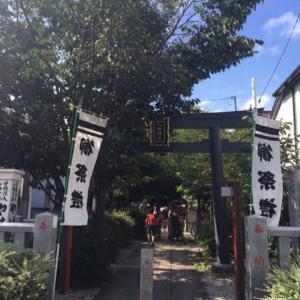 『はる散歩』(〃´д` ){…盆踊り♪【中野区•大和町八幡神社】