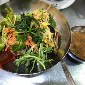 大邱の七星市場でポリパプ(麦飯)5000ウォンの幸せ
