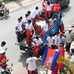 カンボジアの春節 中国との関係