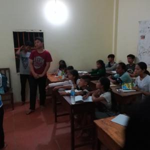 スラムにある語学学校(IPO 学校)