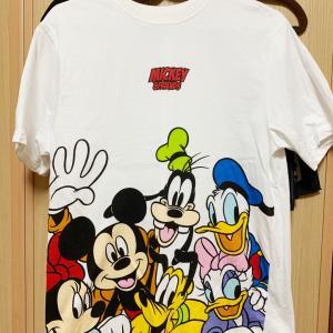 しまむらでディズニーランド風Tシャツ