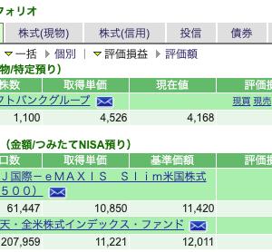 【悲報】ソフトバンクG瀑損