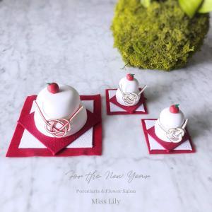 お花も鏡餅も、手作りで迎えた新年! 埼玉 ポーセラーツ&フラワーサロン ミスリリー