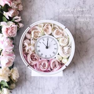 花時計レッスンで、好きをかたちに♡ 埼玉 ポーセラーツ&フラワーサロン ミスリリー