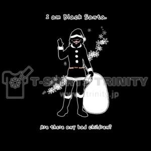 Black SantaTシャツ作りました