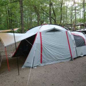 4人家族でキャンプ、テントの大きさの目安は?おススメテントも紹介!
