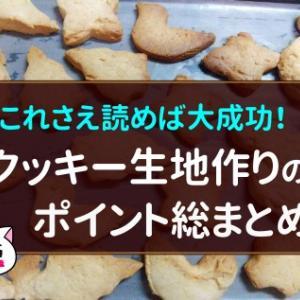クッキー生地の作り方のポイント総まとめ!これさえ読めば大成功!