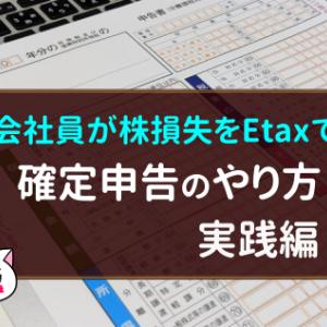確定申告のやり方(Etax/会社員/株損失/ふるさと納税)【実践編】