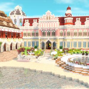 チュリニア島にリゾートホテルを作る