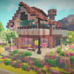 チュリニア島に夏の別荘を作る