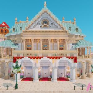チュリニア島の市街地を作る(8)