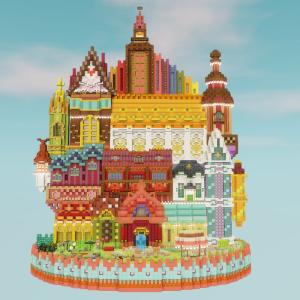 魔法のお城を作る