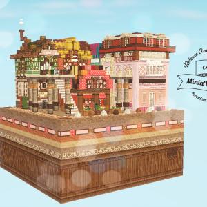 ケーキの街(cocTuriCraft MiniaTuriaテスター作品)