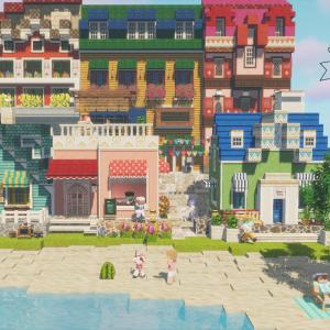 夏の街(cocTuriCraft MiniaTuriaテスター作品)