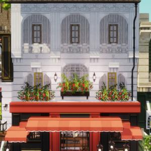 cocricot1.12.2でかっこいいお店のビルを建てる