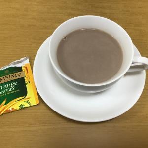 本日の紅茶9:オレンジティーモカ