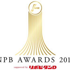 【NPBアワード2019】新人王・MVP・ベストナイン等の発表は11月26日!